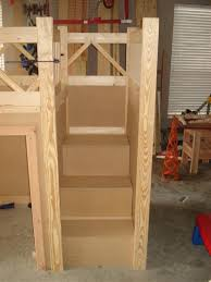 Wooden Bunk Bed With Stairs Solutions Bunk Bed Stairs Only Foster Catena Beds