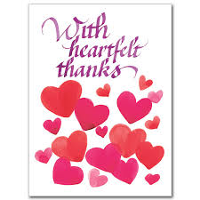 thank you card for with heartfelt thanks thank you thank you for the card km creative