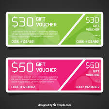 discount gift card discount gift voucher template vector free