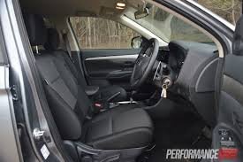 2015 mitsubishi outlander interior 2013 mitsubishi outlander review performancedrive