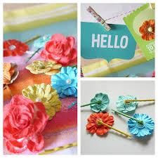 How To Make Flower Hair Clips - flower hair pins diy gift