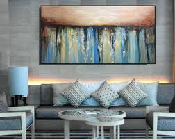 Large Artwork For Living Room by Large Abstract Paintings Original Wall Art By Christovart On Etsy