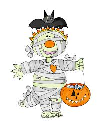 free dearie dolls digi stamps mummy halloween pinterest