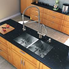 Double Sink Ideas To Accent Kitchen Efficiently TrendsusCom - Kitchen double sink
