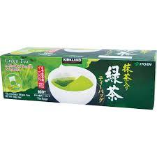 kirkland signature japanese green tea 100 pack