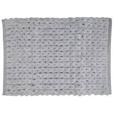 Silver Bath Rugs Park B Smith Ltd Silver Chenille Knit Bath Rug U0026 Reviews Wayfair
