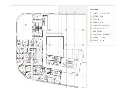 Physical Therapy Clinic Floor Plans Purcell Architects Pc