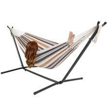 amazon com best choiceproducts space saving steel hammock stand