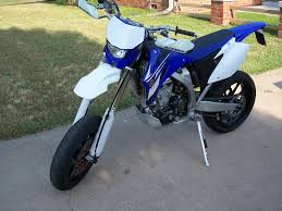 Fs Clean 08 Wr450 Supermoto Street Tag Title With Dirt Setup