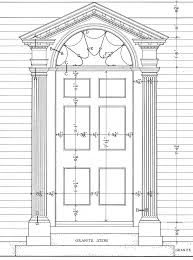 Georgian Floor Plan by Neo Classical Style Georgian 1720 1830 Door Architecture