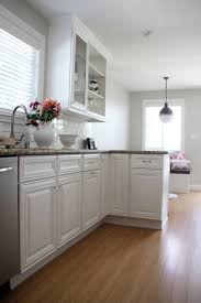 benjamin moore simply white kitchen cabinets 23 best house kitchen checkerboard floors images on pinterest