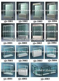 Mobile Phone Storage Cabinet Commercial Glass Tower Display Case Corner Display Cabinet With