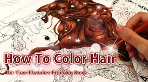 the color book how to color hair coloring book the time chamber by daria