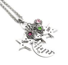 mothers necklace with names 107 best personalized s jewelry images on charm