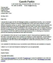 collection of solutions cover letter to hiring manager examples
