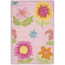 Kid Area Rug Rugs Curtains Awesome Pink Floral Area Rug For Alluring