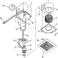 broan s130 parts list and diagram ereplacementparts com