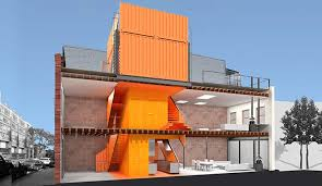 Home Design Firm Brooklyn A Shipping Container Tower Transformed This Brooklyn Carriage