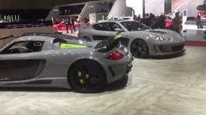 porsche gemballa 911 gemballa avalanche mirage gt and panamera at geneva motorshow