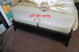 Split Bed Frame Box