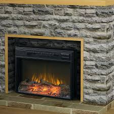 Electric Fireplace Heater Insert Electric Fireplace Heater Inserts Sale Parts Insert Home Depot