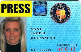 the chartered institute of journalists press cards
