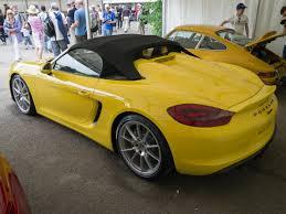 Porsche Boxster 2015 - file 2015 porsche boxster spyder rear view jpg wikimedia commons