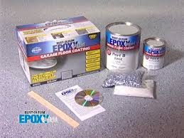 rust oleum epoxyshield gray garage floor coating kit 120 oz at