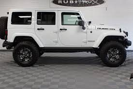 jeep rubicon white 2017 jeep wrangler rubicon hard rock unlimited white