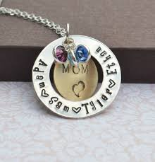 mothers day jewelry sale sale pendant with birthstones family necklace sted