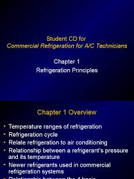 chapter 01 refrigeration principles ppt air conditioning