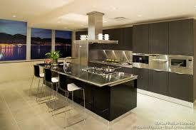 modern kitchen with island stainless steel kitchen island gallery houseofphy com