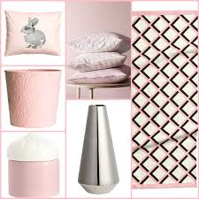 ornaments covers bedroom in pink and silver of h m home fresh