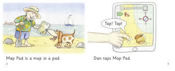 Map Pad Map Pad Band 01a Pink Band 10 White Collins Big Cat Phonics