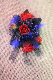 royal blue corsage and boutonniere corsages a garden ashland city tn