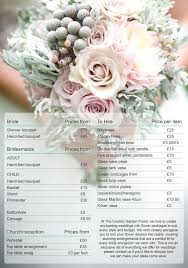 wedding flowers sheffield beautiful wedding floral arrangements prices floral wedding
