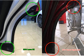 lexus gx 460 vs toyota highlander diy poor door bottom seal fix clublexus lexus forum discussion