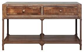 wood and metal console table with drawers sofa table design wood and metal sofa table fascinating