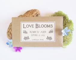 flower seed wedding favors 50 garden bridal shower favors flower seed by fairylandbazaar