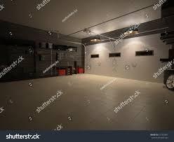 3d illustration garage interior stock illustration 377332441 3d illustration of garage interior