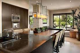 kitchen islands with tables attached modern kitchen island with attached table kitchen island with