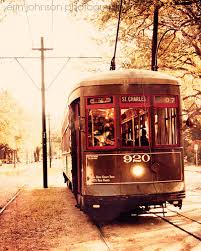 Home Decor New Orleans Sale New Orleans Art Street Car Photography Vintage Wall Art Brown