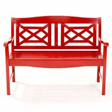 a simple bench can serve as a focal point when adorned with a