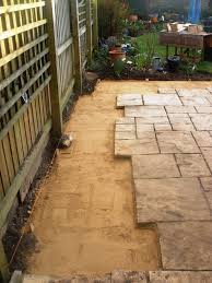 Cement Mix For Pointing Patio by Tommy Walsh What I Reckon