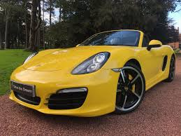 Porsche Macan Yellow - used porsche boxster yellow for sale motors co uk