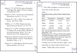 apa format for charts and tables brilliant ideas of apa format table twentyeandi fancy exles of