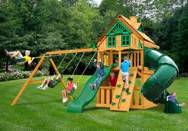 lowest price gorilla mountaineer clubhouse treehouse playset free