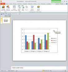 changing fonts and other text options for charts in powerpoint