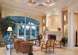 Niche Decorating Ideas Fireplace Niche Decorating Ideas Living Room Mediterranean With