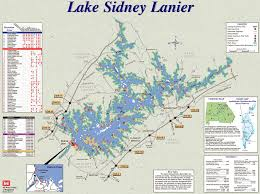lake lanier map lake lanier maplets